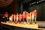 Probe auf der Bühne - 2008